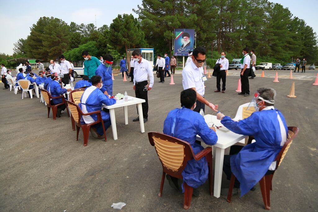 پایش مستمر کارکنان پالایشگاه شهید هاشمینژاد در مقابله با کرونا