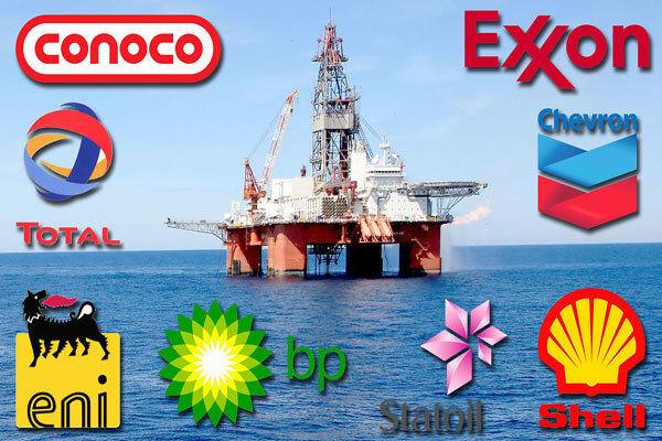 کاهش خیرهکننده تولید شرکتهای بزرگ نفتی