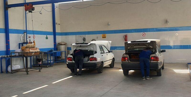 طرح رایگان دوگانهسوز کردن خودروهای عمومی در استان یزد اجرایی شد