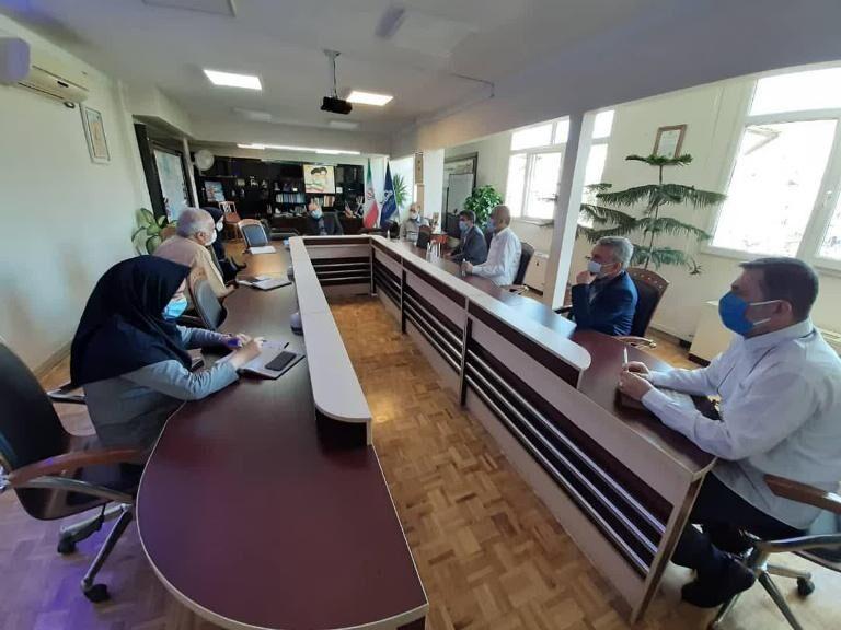 برگزاری پانزدهمین نشست کمیته اضطراری سلامت در پخش منطقه تهران
