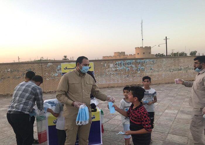 نفت و گاز اروندان ماسک رایگان توزیع کرد