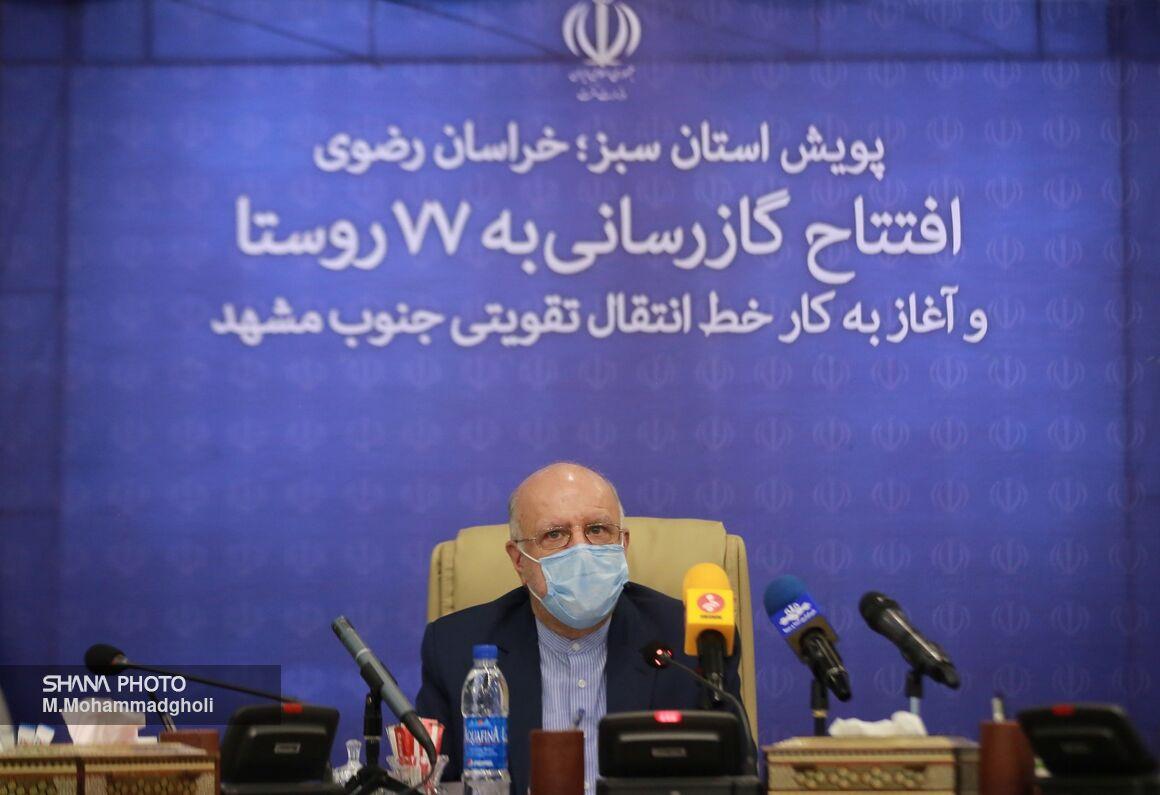 طرحهای گازرسانی به۷۷ روستا و خط انتقال تقویتی جنوب مشهد افتتاح شد