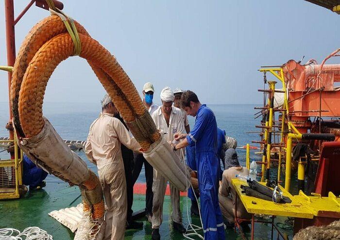 پایانه نفتی لاوان عملیاتی شد