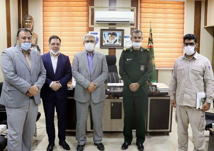 فرمانده سپاه خرمشهر از شرکت نفت و گاز اروندان قدردانی کرد