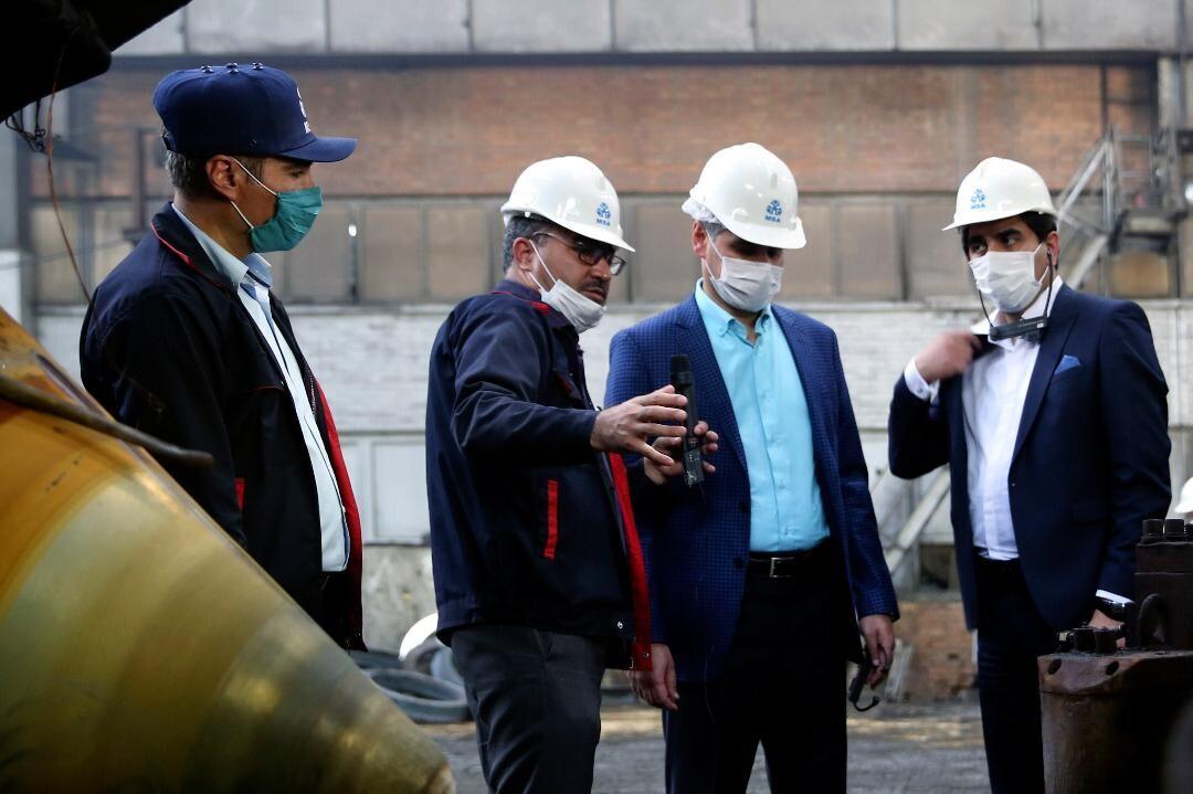 ساخت شیرهای دروازهای طرح خط لوله گوره-جاسک در کشور