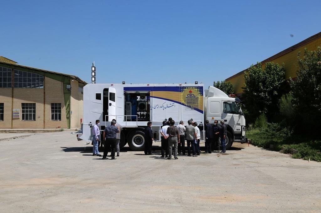 بهکارگیری نسل نو ماشینجوشهای پیشرفته در منطقه ۳ عملیات انتقال گاز