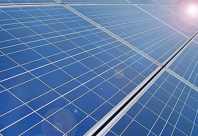 نخستین نیروگاه خورشیدی شناور ایران در پتروشیمی مهاباد راهاندازی شد