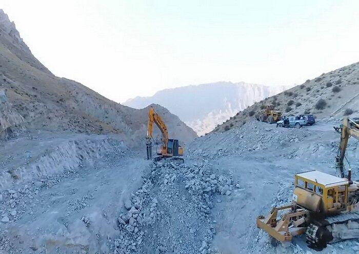 احداث ۳۵ کیلومتر جاده دسترسی در فاز ۲ تنگ بیجار