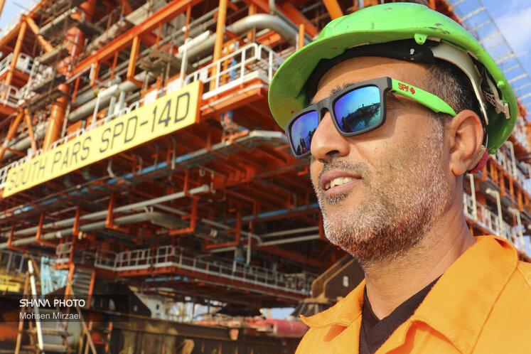 سکوی 14D، چهارمین و آخرین عرشه این طرح با ظرفیت برداشت روزانه 14.2 میلیون مترمکعب گاز (معادل 500 میلیون فوت مکعب) است که با نصب و راهاندازی آن، بخش فراساحل فاز 14 به ظرفیت کامل برداشت روزانه 56 میلیون مترمکعب گاز غنی خواهد رسید. آخرین عرشه دریایی فاز 14 پارس جنوبی ،بهمنظور انتقال و نصب در موقعیت مخزنی بلوک مشترک گازی ایران و قطر از یارد شرکت صنعتی دریایی ایران بارگیری شد.