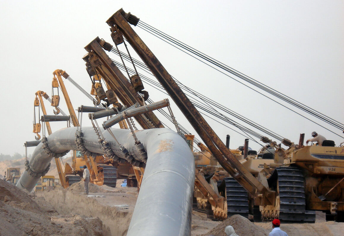 تداوم تلاشها برای توسعه گازرسانی در ایران