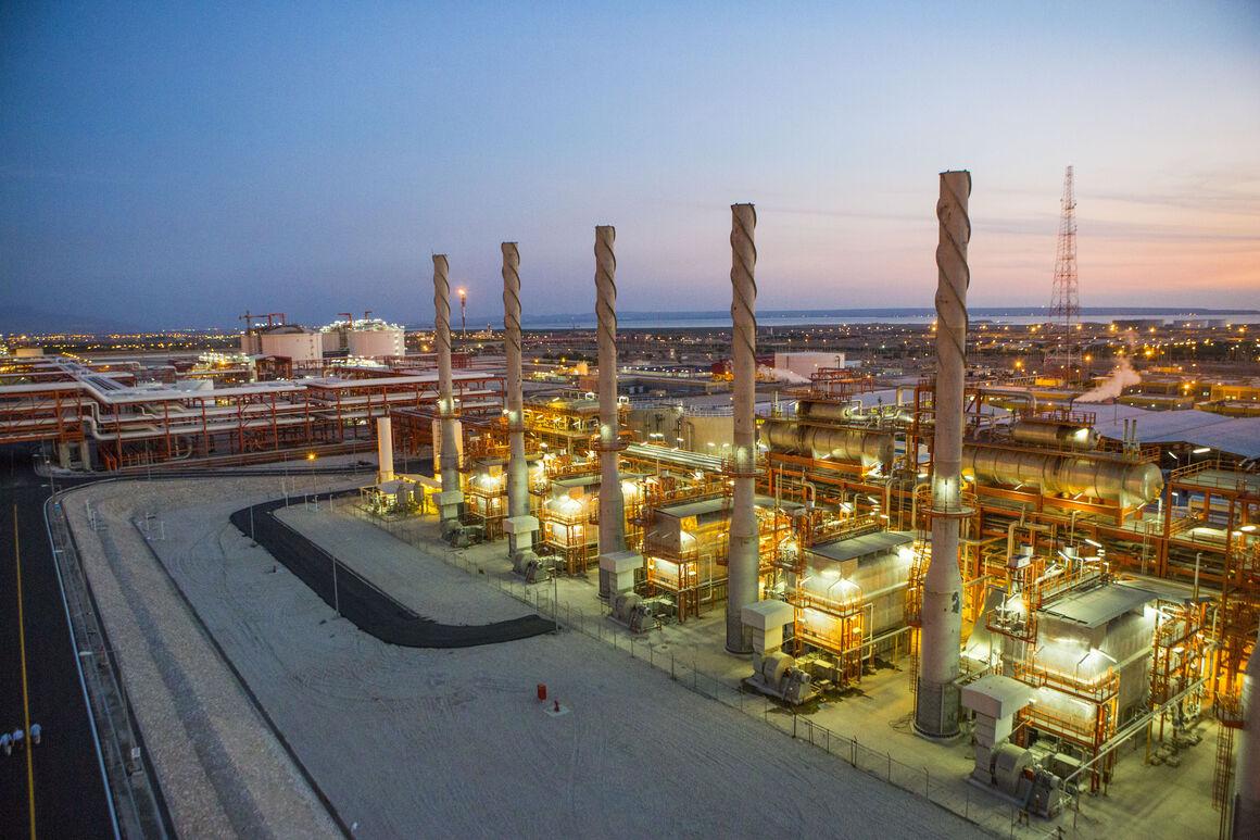 تولید بیش از ۱۷۸ میلیارد مترمکعب گاز در پالایشگاه پارسیان