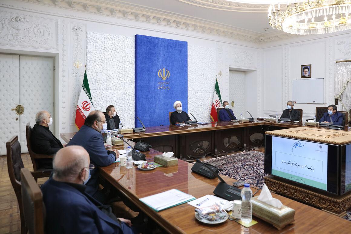 روحانی: اجازه نمیدهیم تکانههای اقتصادی روند توسعه را تحت تأثیر قرار دهد