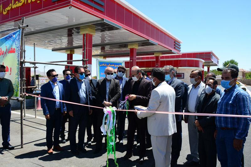 افتتاح ۴ جایگاه عرضه سوخت جدید در استان فارس