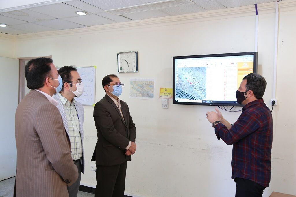 راهاندازی سامانه هوشمند نشتیابی در شرکت گاز ایلام