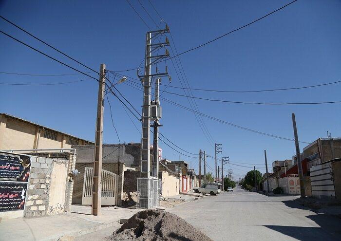 پایداری برق مشترکان لالی به همت نفت و گاز مسجدسلیمان