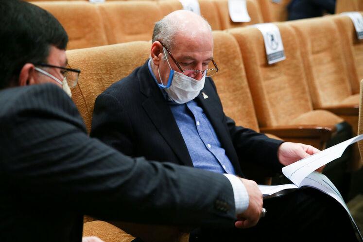 حسن منتظرتربتی، مدیرعامل شرکت ملی گاز ایران
