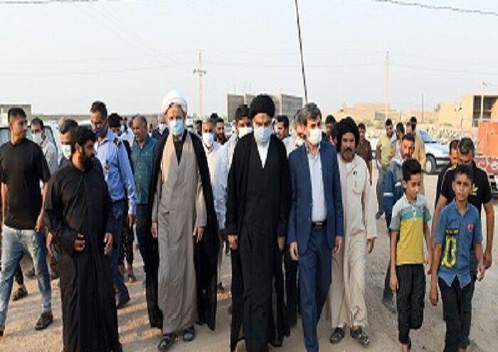 قدردانی نماینده ولی فقیه خوزستان از مناطق نفتخیز جنوب