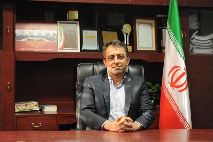 محمود امین نژاد، مدیرعامل شرکت پالایش گاز بیدبلند خلیج فارس