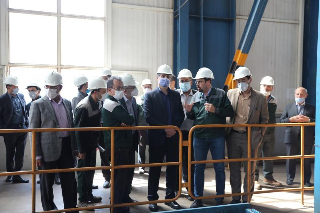 راهاندازی خط تولید جدید در مسیر احداث خط لوله گوره - جاسک