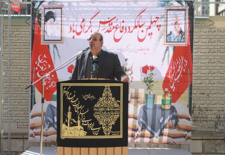 محمدعلی فلاح، فرمانده بسیج وزارت نفت