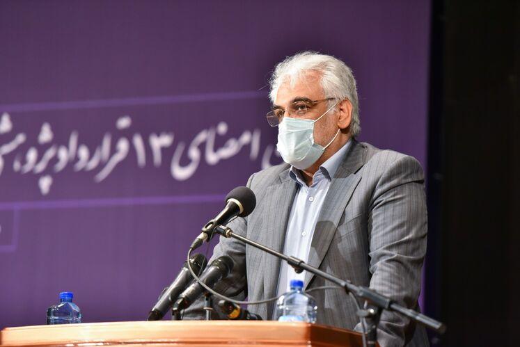 محمدمهدی طهرانچی، رئیس دانشگاه آزاد  اسلامی
