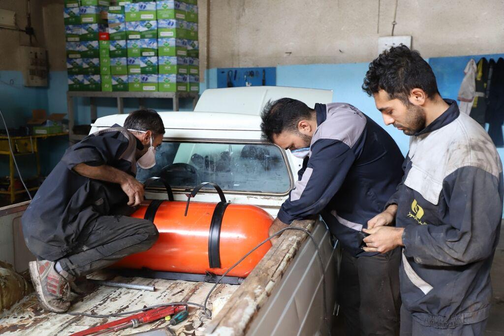 ۲۰۰ دستگاه خودرو عمومی در استان البرز دوگانهسوز شدند