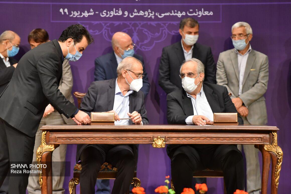 امضای ۱۳ قرارداد کلان پژوهشی صنعت نفت با دانشگاهها و مراکز تحقیقاتی