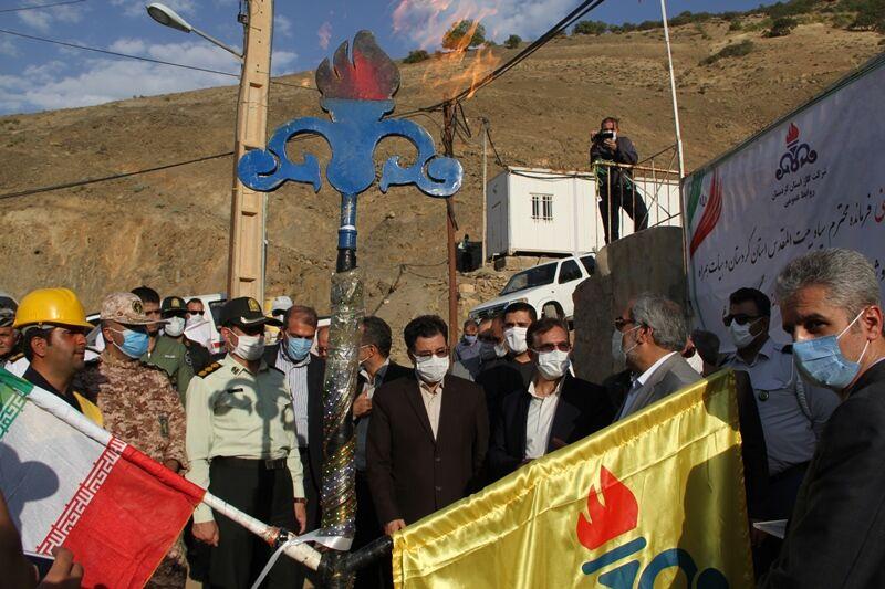 گاز به ۴ روستای دیگر کردستان رسید
