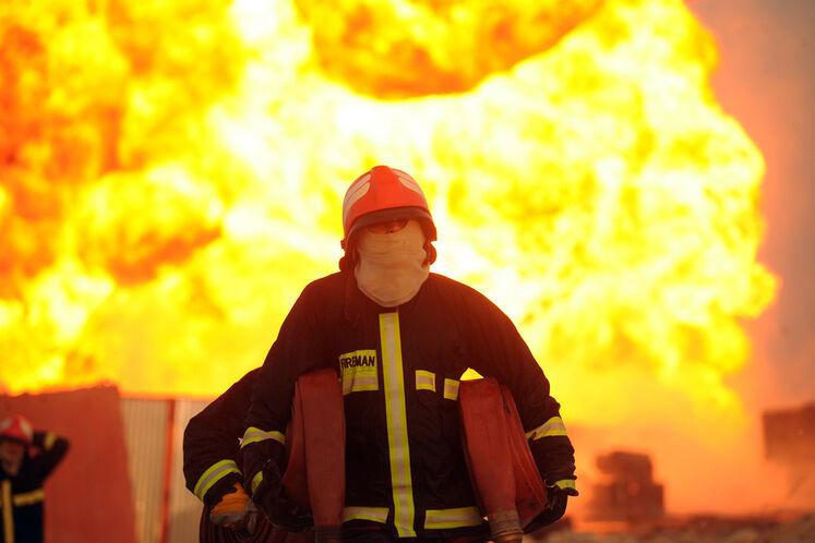 گرامیداشت روز ملی آتشنشانی و ایمنی از دریچه دوربین عکاسان شانا