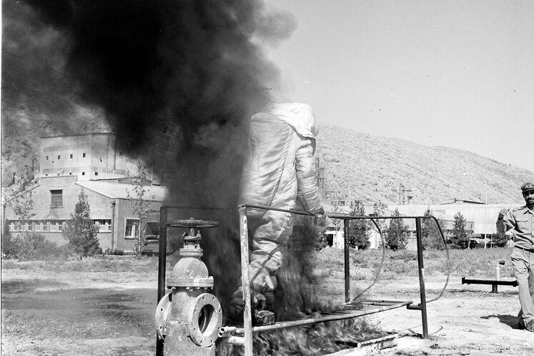 گرامیداشت روز ملی آتشنشانی و ایمنی