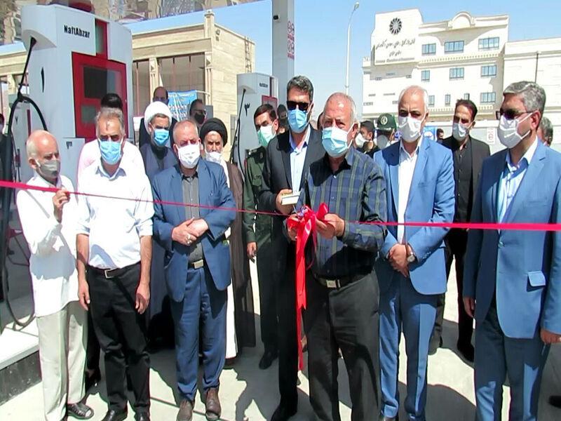 هفتادوششمین جایگاه سوخت استان سمنان به بهرهبرداری رسید