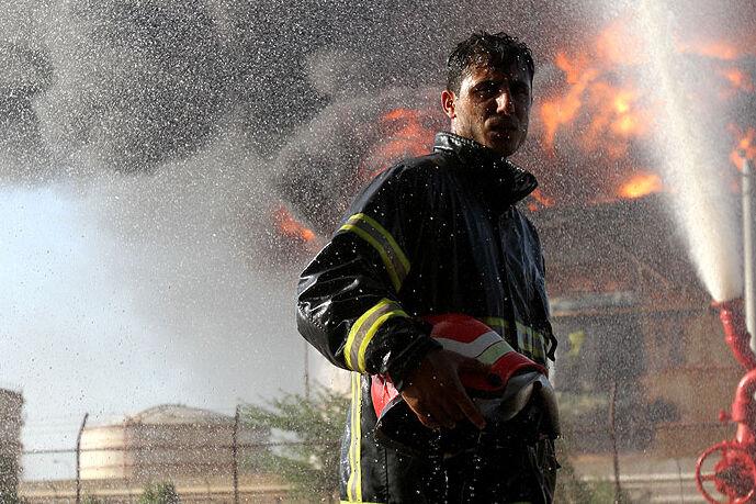 گرامیداشت روز آتشنشانی از نگاه یک هنرمند
