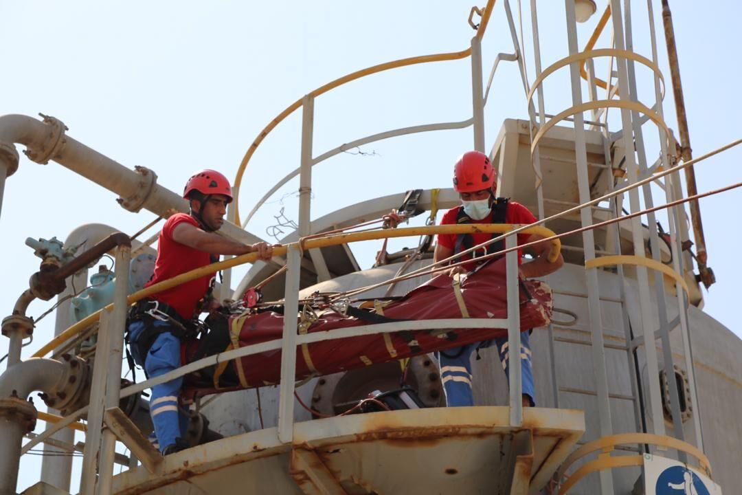 تشکیل گروه تخصصی امداد و نجات در نفت و گاز زاگرس جنوبی
