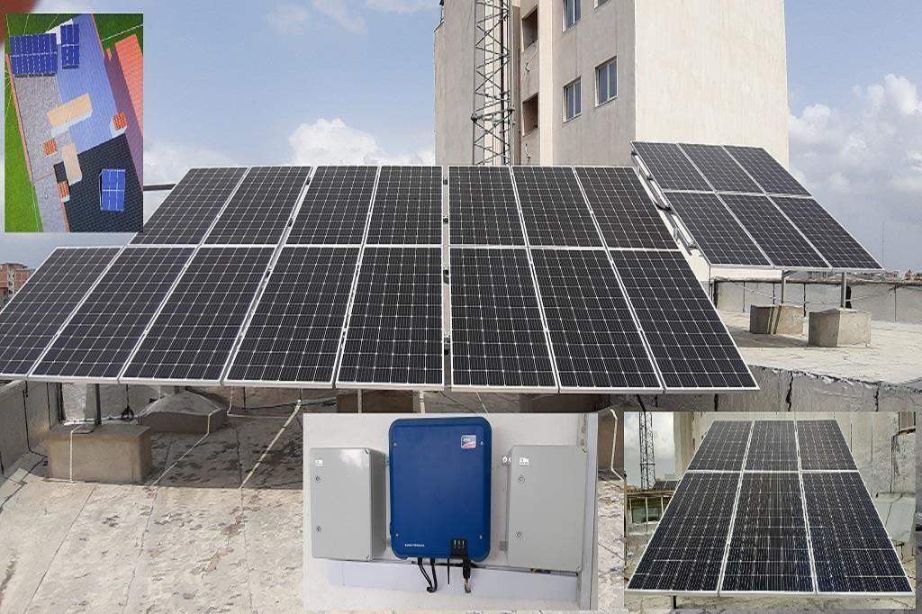 راهاندازی نیروگاه خورشیدی ۱۰ کیلوواتی در منطقه ۹ عملیات انتقال گاز