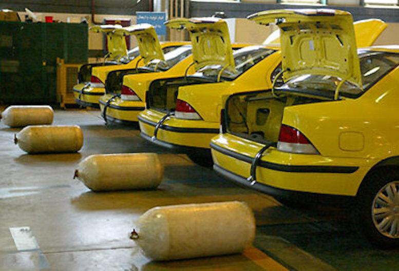 ۱۱۰۰ دستگاه خودرو عمومی در کردستان رایگان دوگانهسوز شد