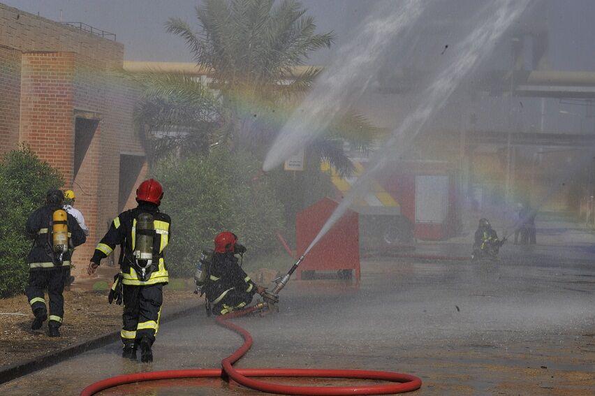 مخازن آب آتشنشانی تأسیسات متمرکز عسلویه راهاندازی شد