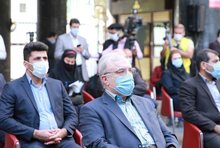 سعید نمکی، وزیر بهداشت، درمان و آموزش پزشکی
