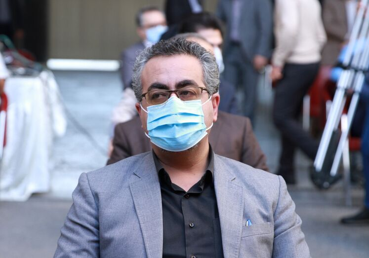 کیانوش جهانپور، مدیرکل روابط عمومی وزارت بهداشت، در مان و آموزش پزشکی