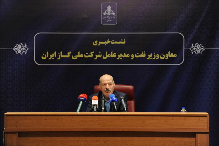 نشست خبری حسن منتظرتربتی، معاون وزیر نفت در امور گاز
