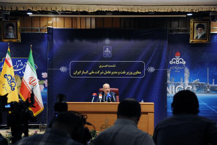 حسن منتظرتربتی، معاون وزیر نفت در امور گاز در آیین رونمایی از طرح ملی بهینهسازی موتورخانه واحدهای مسکونی