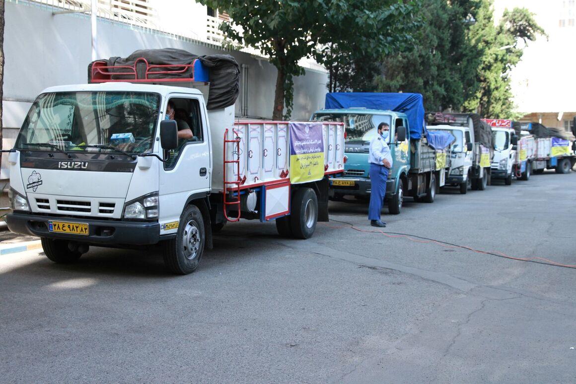 وزارت نفت ۱۴۱ دستگاه ونتیلاتور به وزارت بهداشت اهدا کرد