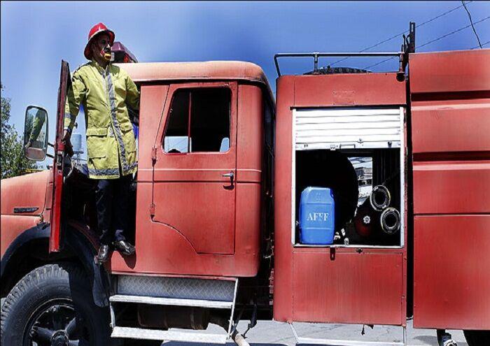 کنترل خوردگی در مخازن کامیونهای آتشنشانی نفتشهر