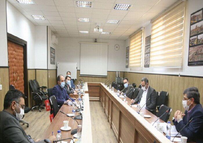 برگزاری نشست کارگروه مقابله با کرونا در نفت مناطق مرکزی