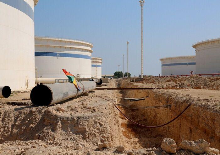 نوسازی بخشی از خطوط لوله در پایانه نفتی خارک