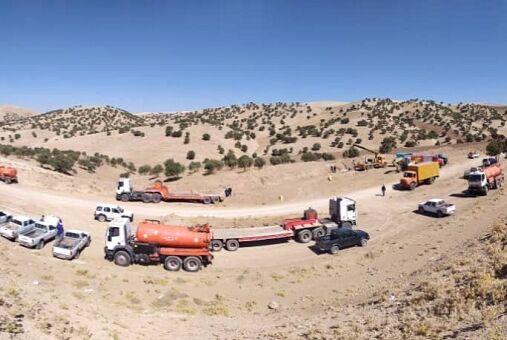 اجرای عملیات قطع و وصل ۴ کیلومتر از خط لوله پل بابا - رازان