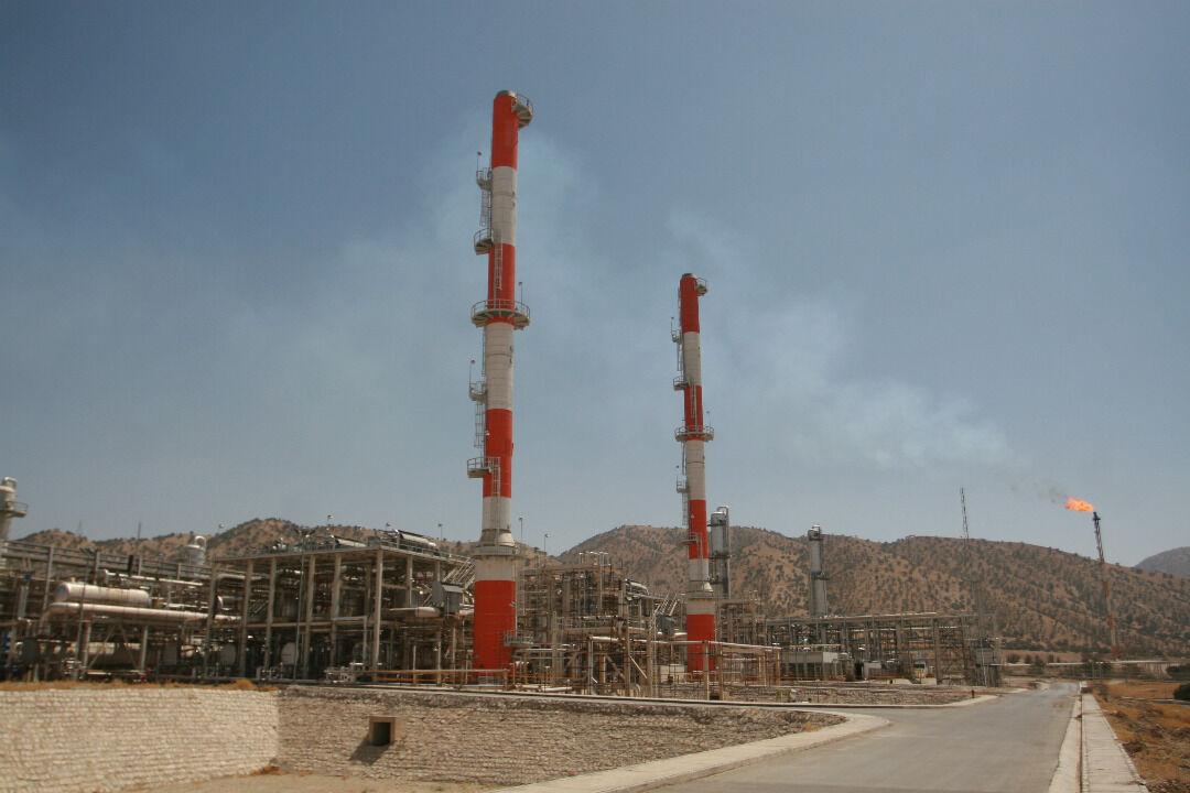 افزایش قابل توجه تولید اتان در پالایشگاه ایلام