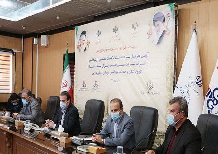 نفت ۱۳ ونتیلاتور به دانشگاه علوم پزشکی فارس تحویل داد