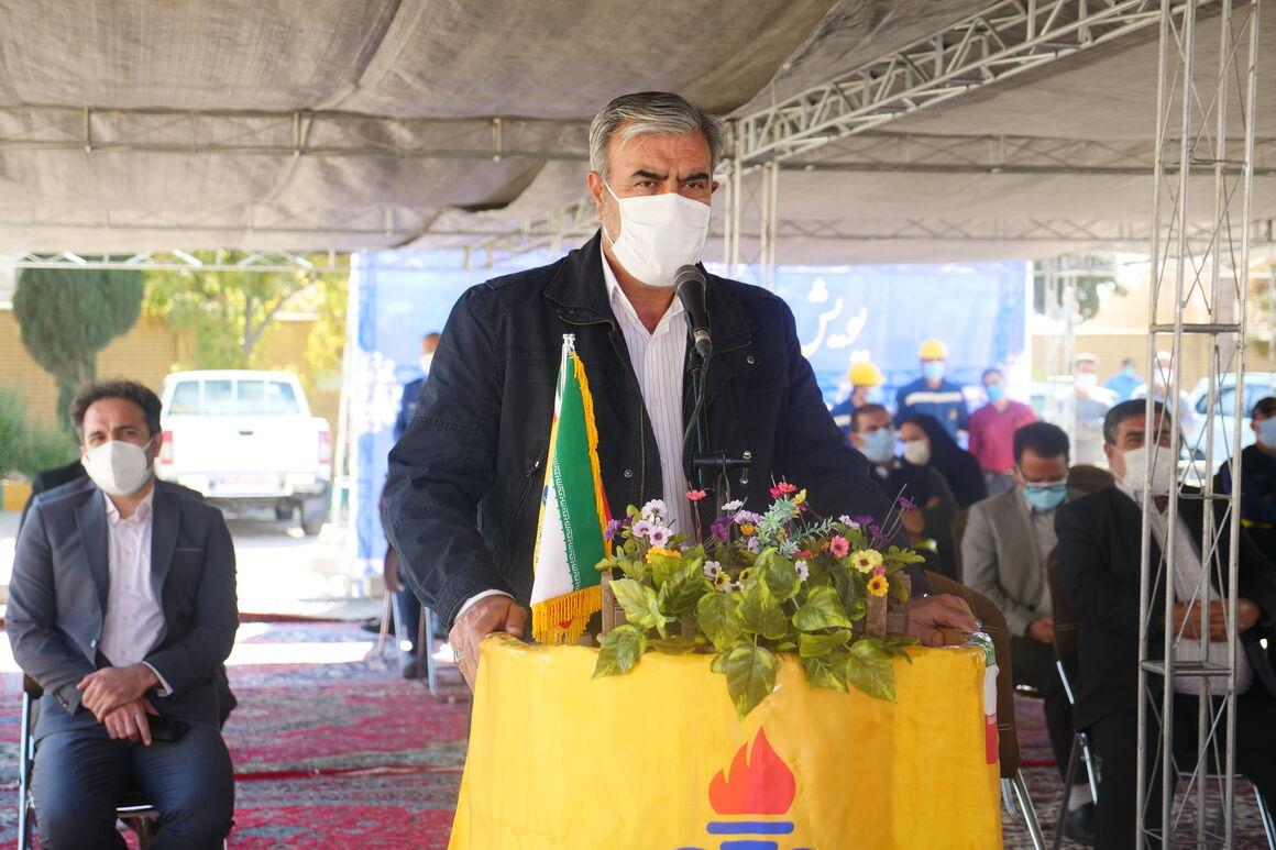 توسعه گازرسانی سبب پیشرفت و شکوفایی استان فارس میشود