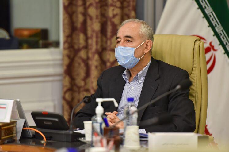 Amirhossein Zamaninia at GECF Roundtable