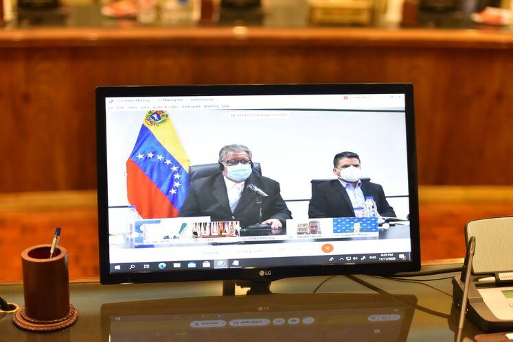 میزگرد وزارتی جیئیسیاف از طریق ویدئوکنفرانس